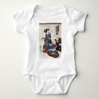 Body Princesse Minatsuru - Kunisada Utagawa - 1843