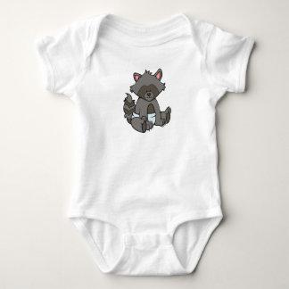 Body Raton laveur personnalisable de bébé