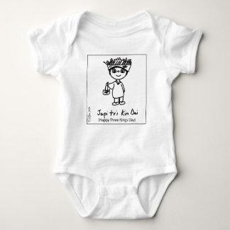 Body Rois heureux Day de combinaison du Jersey de bébé