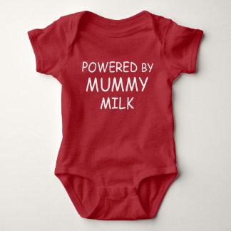 Body Rouge actionné par le gilet de lait de maman