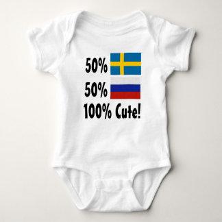 Body Russe du Suédois 50% de 50% 100% mignon