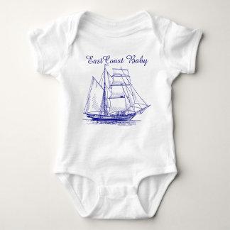 Body Schooner de bateau de voilier de bébé de Côte Est