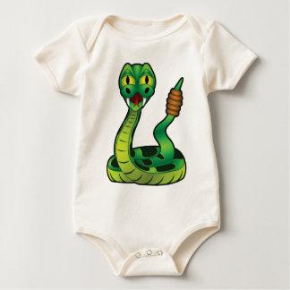 Body serpent à sonnettes solitaire