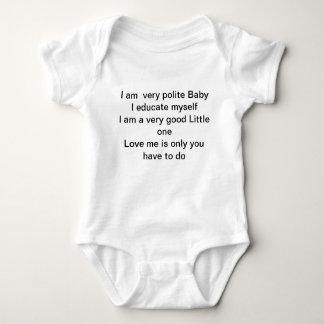 Body Soyez bébé poli