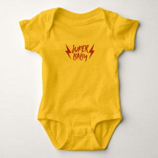 Body Superbe rouge de bébé de foudre de rock superbe de