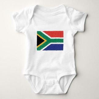 Body Thème de drapeau de l'Afrique du Sud