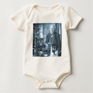 Body Thomas Edison dans son cyan de Stereoview de