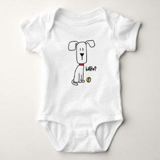 Body Un chien et son bébé de garçon ou de fille de