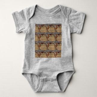 Body Une seule pièce de bébé d'aiguillon de trépied