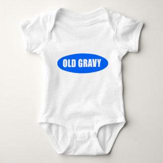 Body Vieux costume de bébé de sauce au jus
