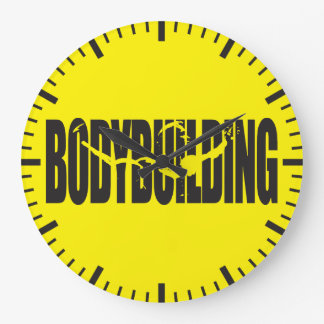 Bodybuilding Grande Horloge Ronde