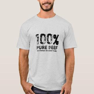 Boeuf pur de 100% t-shirt