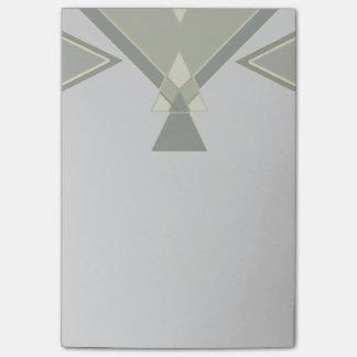 Boheemse Stammen Geometrische | Grijze Douane Post-it® Notes