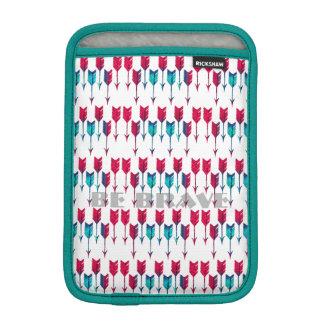 Bohémien tribal de plume de Boho de flèches rouges Housse iPad Mini