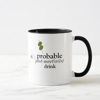 boisson de Pré-martini tasse de sonnerie de 11