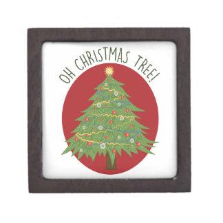 Boîte À Babioles De Première Qualité Oh arbre de Noël