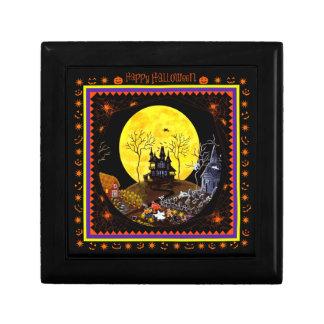 Boîte à bijoux de Halloween