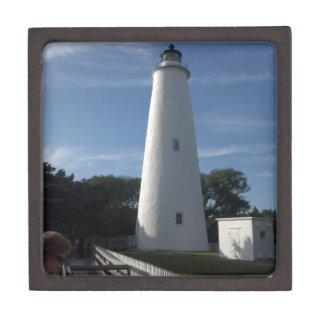 Boîte à bijoux de phare d'Ocracoke la Caroline du