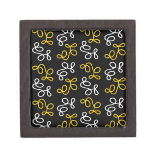 Boîte À Bijoux De Première Qualité Élégance - jaune
