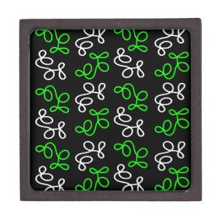 Boîte À Bijoux De Première Qualité Élégance - vert