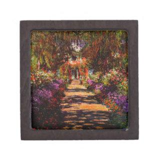 Boîte À Bijoux De Première Qualité Monet-Voie de Claude dans le jardin de Monet chez