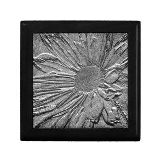 Boîte à bijoux florale d'art de regard de