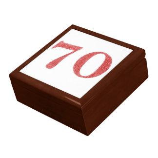 Boîte À Souvenirs 70 ans d'anniversaire