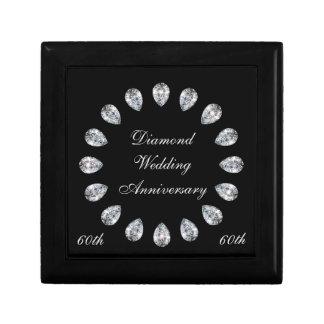 Boîte À Souvenirs Anniversaire de noces de diamant