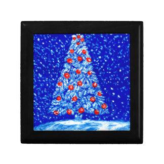 Boîte À Souvenirs Arbre Art02 de Noël