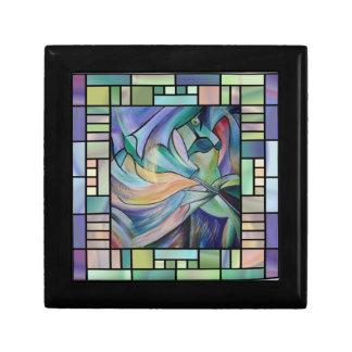 Boîte À Souvenirs Art Nouveau Bellydance (carré)