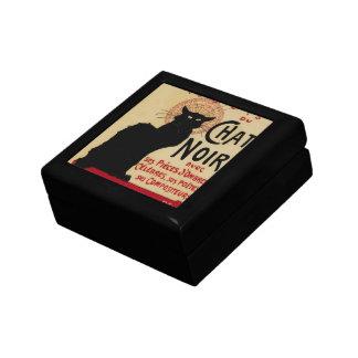 Boîte À Souvenirs Art vintage Nouveau, Le Chat Noir