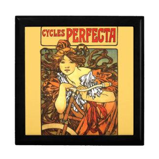 Boîte À Souvenirs Bicyclette de Nouveau d'art - Alphonse Mucha