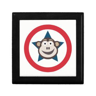 Boîte À Souvenirs Bijoux/boîte-cadeau superbes de singe