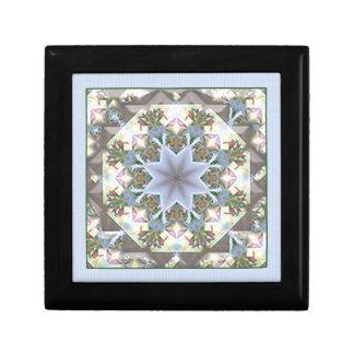 Boîte À Souvenirs Boîte à bijoux/lavande de mandala d'étoile petites