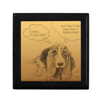 Boîte À Souvenirs Boîte-cadeau 2018 humoristique d'année de chien