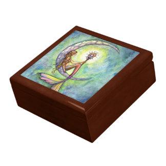 Boîte À Souvenirs Boîte-cadeau de boîte de bibelot de lune de sirène