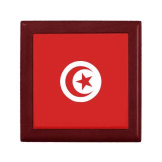 Boîte À Souvenirs Boîte-cadeau de drapeau de la Tunisie