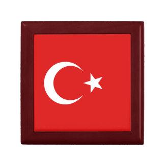 Boîte À Souvenirs Boîte-cadeau de drapeau de la Turquie