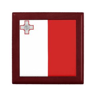 Boîte À Souvenirs Boîte-cadeau de drapeau de Malte