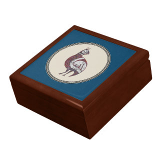 Boîte À Souvenirs boîte-cadeau de l'image 9 de cailles
