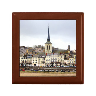 Boîte À Souvenirs Boîte-cadeau de scène de berge de Saumur