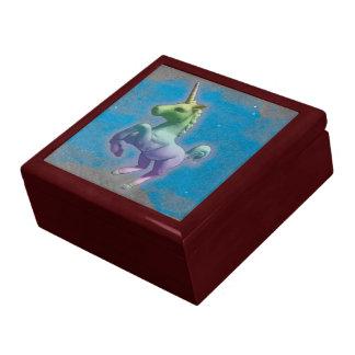 Boîte À Souvenirs Boîte-cadeau de souvenir de tuile de licorne