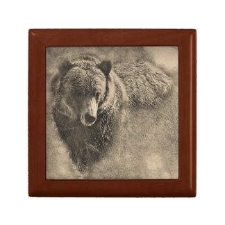 Boîte À Souvenirs Boîte-cadeau de souvenir d'illustration d'ours