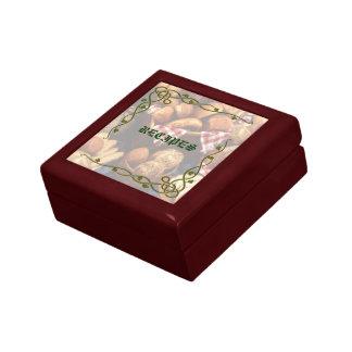 Boîte À Souvenirs Boîte-cadeau décorative de recette de boulangerie