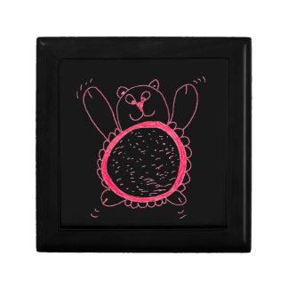 Boîte À Souvenirs Boîte-cadeau d'ours de tournesol