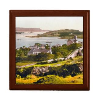 Boîte À Souvenirs Boîte-cadeau du Donegal Irlande du comté de