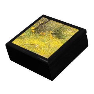 Boîte À Souvenirs Boîte-cadeau florale de fleur sauvage de fleur de