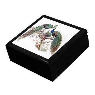 Boîte À Souvenirs Boîte-cadeau vintage de faune d'animaux d'oiseaux