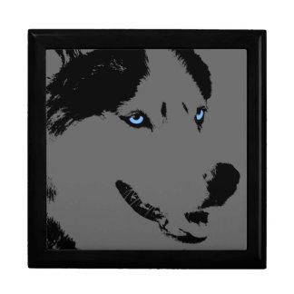 Boîte À Souvenirs Boîte de chien enrouée de traîneau de chiot de