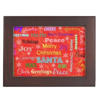 Boîte À Souvenirs Boîte de souvenir de Noël pour votre amie d'épouse